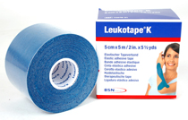 Leukotape Kinesiology Tape blå 5m * 5 cm