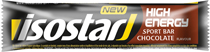 Isostar high energy bar choklad 35g