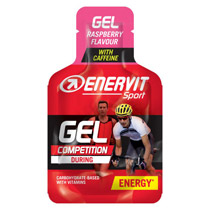 Enervit gel raspberry med koffein 25 ml