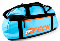 Oltech DB19M duffelbag, turkos/orange 50 liter