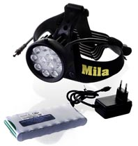 Mila Vega II trail led 5,2Ah Li-Ion paket