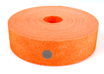 Snitsel orange i papper med 6 mm reflexprickar